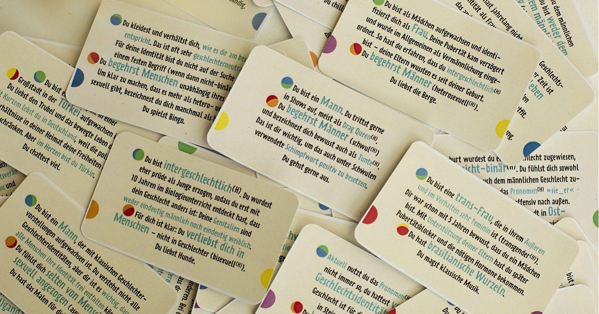 Identitätenlotto: Wäre die Welt ein Spiel …